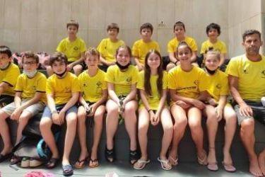 Nadadores mais jovens em destaque