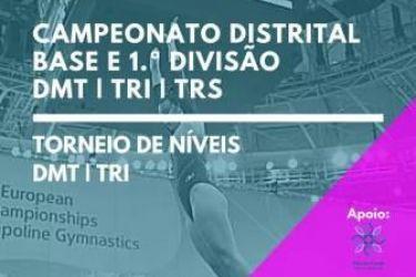 EDV Participa no Campeonato Distrital de Trampolins